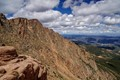 Rocky outcrop from Pike's Peak
