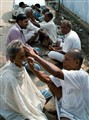Barbers in India
