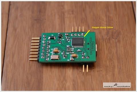 DIY NX AF Adapter - PCB bottom