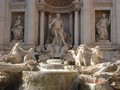 Trevi Fontain located in the trevi district of Rome in Italy.It is said that if you throw coin in the fountain water and make wish will be fulfilled.I was impressed with the beautiful 5 sculptures of the fountain.