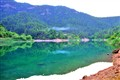 Tsivlos Lake in the North Peloponnese, Greece