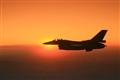 F-16 Sunset
