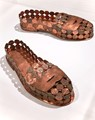 Portland Art Museum Sonya Clark (American, born 1967) Penny Loafers, 2010 Copper and pennies