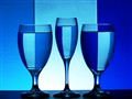 Refraction in Blue