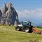 Hay Harvest near Punta Santner Peak