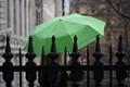 Lady in the rain (with umbrella)