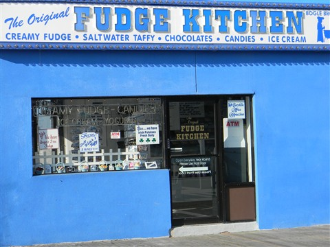 Before Sandy - Fudge Kitchen: Ocean City NJ