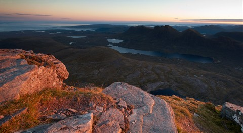 First light on Sgurr Mhor