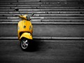 Lonely Vespa