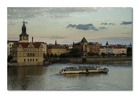 Prague summer evening