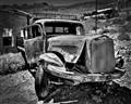 Abandoned Mining Truck on Serifos Island, Aegean Sea