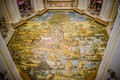 The stunning mosaic floor of the Chiesa di San Michele in Anacapri, Italy.