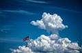 Clouds and Flags