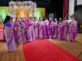 cotton saris at a wedding