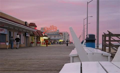 boardwalk in rehoboth beach, de