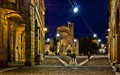 Evening in St. Stephen Square (Bologna)