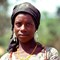 A Women on the road from Zaria to Kano, Nigeria