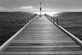 Light on pier, Geelong