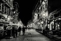 Old Montreal by night