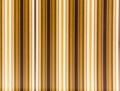 Striped awning