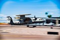 U.S. Navy E-2 touch-and-go