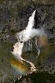 The Serio River Falls