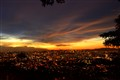 Kuala Lumpur, Malaysia skylines at dusk