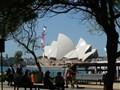 Sydney Opera House from First Fleet Park