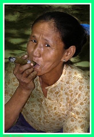 BURMA  I like smoking