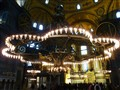 The Giant Chandelier @ Hagia Sophia
