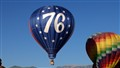 Annual Balloon festival Memorial Park Colorado Springs, Co
