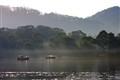 Misty Morning Strahan Harbour