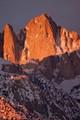 Sierra Nevada Range, California, highest mountain, 14,496' elev. in the conterminous U.S.
