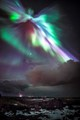 Shoot during high Aurora  activity at the Reykjanes peninsula Iceland