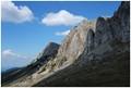 The western abrupt of Bucegi Mountains, Romania