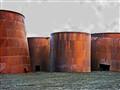 Abandoned Oil Tanks