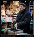 The Seaweed Hawker - Tokyo - March 2013