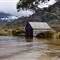 boat hut cradle mountain