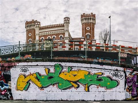 Graffiti & Rossauer Kaserne