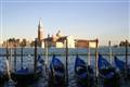 Tradicional gondolas of Venice -Italy
