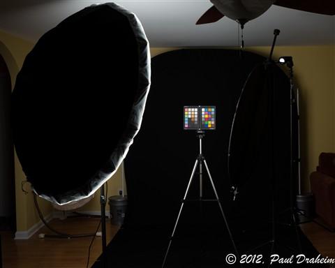 3rd Photo shoot setup