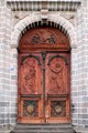 Cathedral doors, Quito, South America