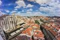 The sky of Lisbon