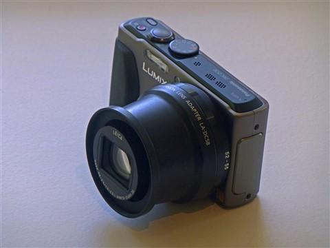 lens fully extended