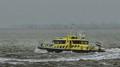 Patrol vessel RWS 78 does an U turn.