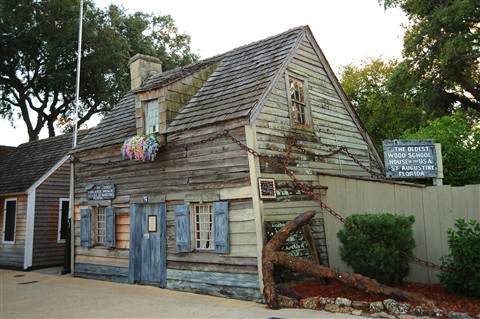 Oldest Wood School House In The USA
