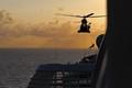 No land in sight - medical evacuation at sea
