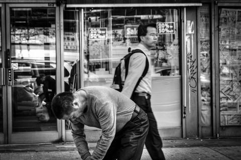 A Street Moment...