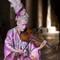 Tony Fiison Fashion Art Photography NYFW - Pink Silk Violin