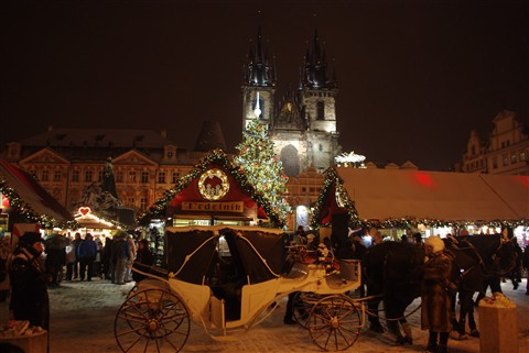 Magic of Xmas, Prague